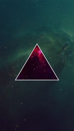 Red Triangle Wallpaper