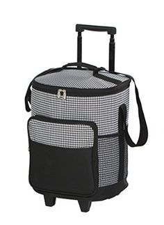 Dash Rolling Cooler  Houndstooth  Rolling Cooler With Insulated Leak Proof Lining *** Be sure to check out this awesome product.