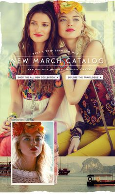 bohemian free people spring campaign - love the yellow nail polish on yellow pants