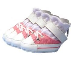 Pink Dog Sneakers Shoes