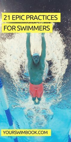 21 Epic Practices for Competitive Swimmers Swimming Drills, Competitive Swimming, Swimming Practice, Triathlon Swimming, I Love Swimming, Swimming Tips, Swimming Photos, Workouts For Swimmers, Swimming Workouts