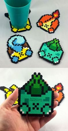 Pokemon Butt Coaster Set
