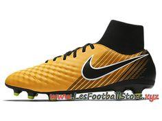 free shipping 4c87b d2f81 Nike Magista Onda Ii Dynamic Fit Fg Chaussure De Football à Crampons Pour  Terrain Sec Jaune