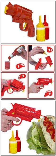 mustard ketchup dispenser