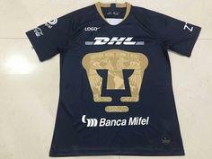 18-19 Adult Thai Quality Pumas 3rd Away soccer jersey 9e5bba65b