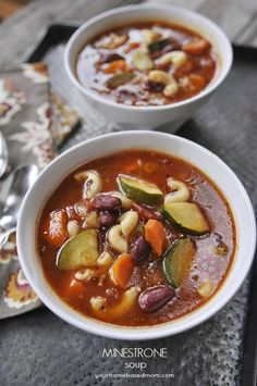 Great Aunt Dorothy's Minestrone Soup