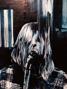 Kurt Cobain//Archibald Prize Portrait