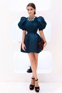 Cannot get enough of this dress! Miroslava Duma