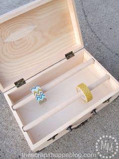 DIY - Washi Tape Storage