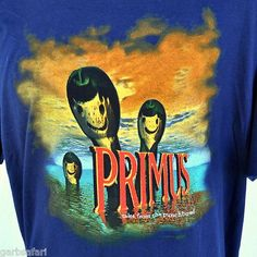 "Primus ""Tales From The Punchbowl"" '95 Concert T-shirt 