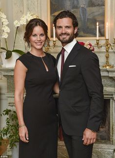 Sweden's Prince Carl Philip and Princess Sofia  announced on Thursday that the Princess is expecting their first child