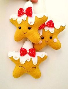 These star ornaments are just precious!  This says:  Photo