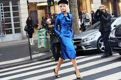 #streetstyle #burberry #elenaperminova #fashionicon