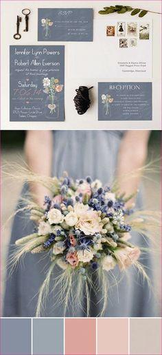 Wedding color palettes for spring summer 2017 130