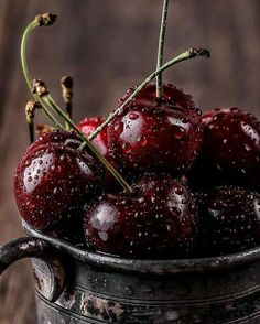 Wonderful #cherries #fruit #photo