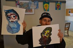 """Meet our Featured Artist: Robert """"Bobby"""" A., from Rhode Island. Click here to learn more about Bobby and see a gallery with some of his most recent work! http://www.fellowshiphr.org/health-and-wellness/studio-35/artist-of-the-month #FHR #Studio35 #ArtTherapy"""