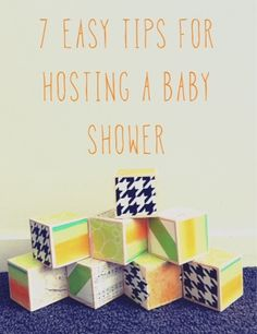 hope fully project: 7 Easy Tips For Hosting A Baby Shower (+ Freebie)
