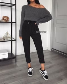 14 casual outfits with dress pants for college College Outfits casual college Dress Outfits pants Casual Dress Outfits, Mode Outfits, Trendy Outfits, Fall Outfits, Summer Outfits, Fashion Outfits, Black Outfits, Womens Fashion, School Outfits