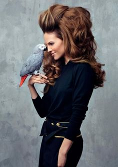 Big Hair - Recreate this... www.haircombat.com