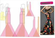 mermaid dresses patterns - Cerca con Google