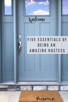 Hosting events at our home is always a whole lot of work, but we still love doing it. When we follow these 5 guidelines, it makes hosting so much easier and more importantly, helps our friends and family feel right at home. Pin this! And go back to it as needed for a hostess checklist! Rustic Entry, Rustic Shabby Chic, Getting Things Done, Farmhouse, Diy Projects, Events, Make It Yourself, Party Stuff, Household Tips