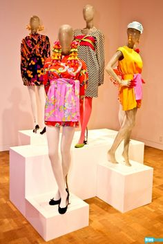 60's fashion...the psychedelic mini skirts & dresses