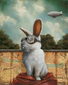 Big Bunny's a huge Zeppelin fan.  ~~ Houston Foodlovers Book Club