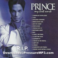 "PRINCE ""Double Play Set"" My Best Work CD & DVD Collection Mixtape CD Compilation"