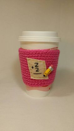 Check out this item in my Etsy shop https://www.etsy.com/listing/206391518/teacher-coffee-sleeve