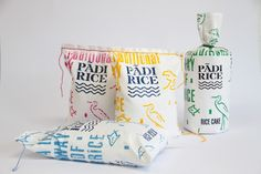 Padi Rice (Student Project) on Packaging of the World - Creative Package Design Gallery