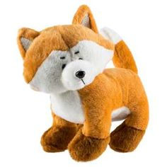 Diaper cake decoration/table decoration! Orange Plush Fox