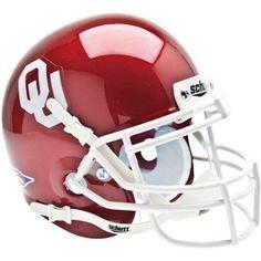 Shutt Sports Ncaa Mini Helmet, Oklahoma Sooners, Red