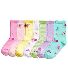 $12.95   Spring Socks Product Detail | H&M US