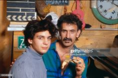 Frank Zappa with Son Ahmet Get premium, high resolution news photos at Getty Images Frank Zappa, Lynn Goldsmith, Music Photo, Family Portraits, Sons, Mothers, Plays, Guitars, Friends