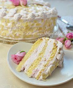 Calzone, Vanilla Cake, Cooking Recipes, Treats, Sweet, Pizza, Polish, Food, Cakes