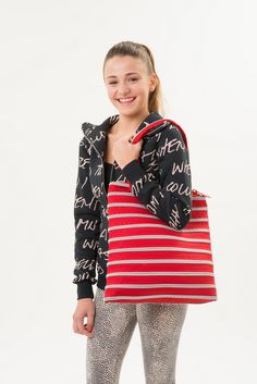 School, Sleepovers, dance, sports, so many things you can do with the Campus Tote Bag