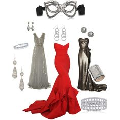 Masquerade!! Any of these gown would be fun but mostly the RED one!