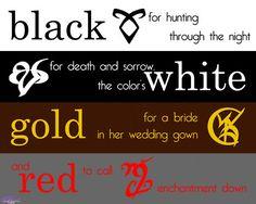 Shadow Hunter Runes and Meanings | SteampunkShadowhunter Shadowhunter Childrens Rhyme