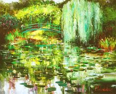 Giverny (2009) - 80 x 100 Original Oil on Canvas