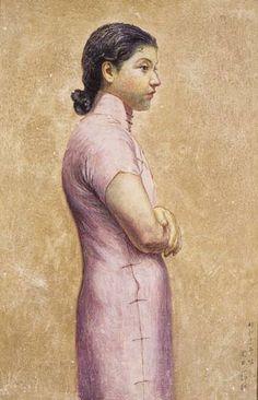 岡田三郎助 「婦人半身像」             1936年製作        東京国立近代美術館蔵
