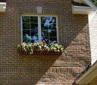 Brick Patterns Around Windows Exterior Design Great Azek