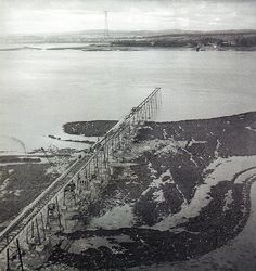 Construction of the First Severn Crossing Severn Bridge, River Severn, Bristol England, Bristol Uk, Wales Uk, South Wales, Severn Beach, Bristol Channel, Liverpool History