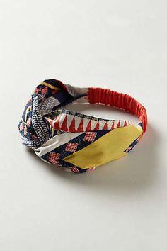 Anthropologie - Preeti Turban Headband. I'm gonna go get one of these tomorrow!