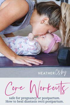 How to heal diastasis recti postpartum. How to prevent diastasis reci during pregnancy, New Mom Workout, Post Baby Workout, Post Pregnancy Workout, Pregnancy Fitness, Postpartum Workout Plan, Postnatal Workout, Postpartum Body, Postpartum Care, At Home Workouts