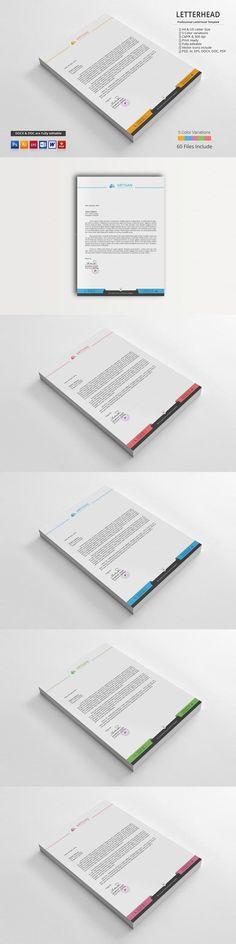 #stationery #design from artisanHR   DOWNLOAD: https://creativemarket.com/artisanHR/646247-Letterhead?u=zsoltczigler