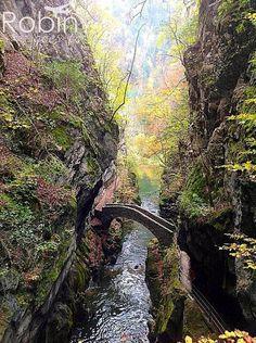 Areuse Gorge bridge, Switzerland