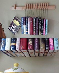 56 Ideas for diy cuadernos universitarios Diy Tumblr, Diy Home Decor Projects, Diy Room Decor, Regal Design, Ideas Para Organizar, Ideias Diy, Book Storage, Decoration Design, Interior Design Living Room