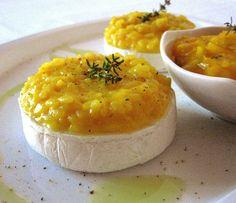 Le Ricette del Bosco Fatato: Cestini di tomini al risotto giallo con salsa alle cipolle e timo