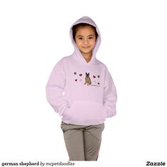 german shepherd hoody