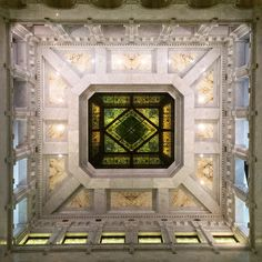 Ceiling in the Minneapolis City Hall.  Photo: Courtesy of Rita Farmer Photography